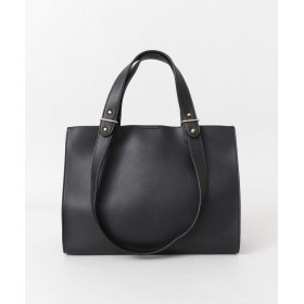 [ロデスコ] 鞄 トートバッグ LAUHA ダブルショルダートート レディース BLACK one