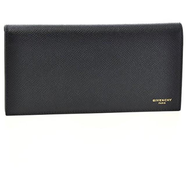 GIVENCHY(ジバンシー) 財布 メンズ カーフ 2つ折り長財布 ブラック BK06030-121-001 [並行輸入品]