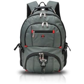 FANDARE 通学backpack パソコンバックパック旅行.通勤 ビジネスバックパック大容量多機能バックパック laptop 收纳バックパック 高校生 登山 防水 裂け抵抗 Oxford グレイ
