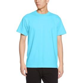 (ユナイテッドアスレ)UnitedAthle 5.6オンス ハイクオリティー Tシャツ 500101 083 アクアブルー S