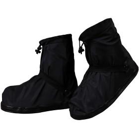 [RUXIYI] シューズカバー 靴カバー 雨除けカバー 防水 梅雨対策 軽量 防滑加工 レインカバー 雨 泥避け 雨具 男女兼用 自転車用 通勤通学