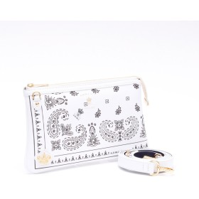 ADMJ エーディーエムジェイ DERBY LUX BANDANA PRINT POUCH WALLET
