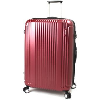 BERMAS PRESTIGE II バーマス プレステージ2 4輪 スーツケース ハードキャリー ファスナータイプ 83L TSAロック付 ワイン 60254-WN