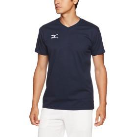 (ミズノ)MIZUNO バレーボール ユニセックス プラクティスシャツ V2JA4081 14 ネイビー S