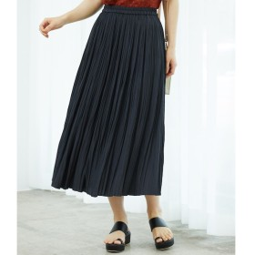 【ロペピクニック/ROPE' PICNIC】 シャイニープリーツロングスカート