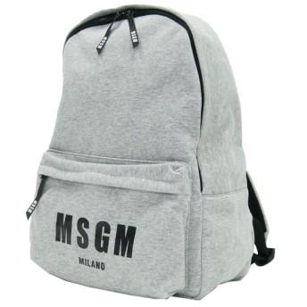 MSGM エムエスジーエム メンズリュックサック 2440MZ02 グレー