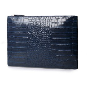 MINIBA セカンドバッグ 上質レザー クロコダイル柄 メンズセカンドバッグ クラッチバッグ 紳士鞄 ブリーフケース 可