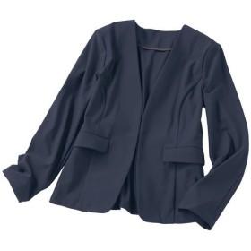 30%OFF【レディース】 カラーレスジャケット(ポーチ付き)(軽量・接触冷感・手洗いOK) - セシール ■カラー:ネイビー ■サイズ:3L,M,L,LL,S