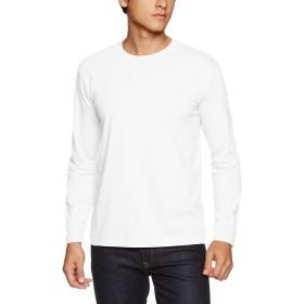 (ユナイテッドアスレ)UnitedAthle 5.6オンス 長袖Tシャツ 501001 [メンズ] 001 ホワイト L