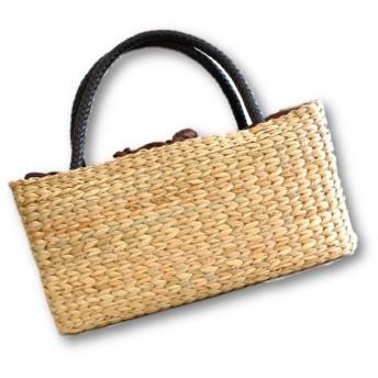 天然素材で作られたハンドメイド かごバッグ(カゴバッグ・アジアンバッグ) BAG-022