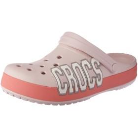 [クロックス] crocband logo clog 205568 barely pink/melon M W9 (25cm)