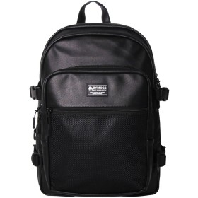 [バイモス]BYMOSS マキシマム リュック 3シリーズ レザー(Maximum Backpack 3Series leather) (ブラック) [並行輸入品]