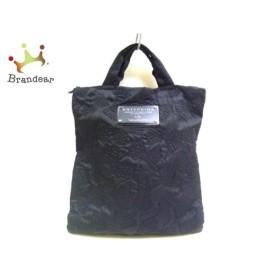 アンテプリマ ANTEPRIMA トートバッグ - 黒 キルティング/リボン ナイロン×化学繊維 新着 20190713