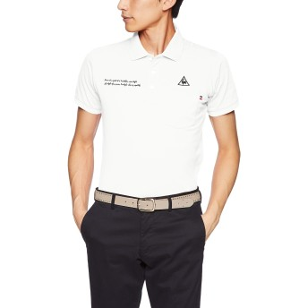 [le coq sportif/GOLF COLLECTION]TRICO club.半袖シャツ QGMNJA00 メンズ WH00(ホワイト) 日本 S (日本サイズS相当)