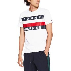 (トミーヒルフィガー) TOMMY HILFIGER 【オンライン限定】ロゴ フラッグ Tシャツ/UPSTATE FLAG TEE 08578D5647 L ホワイト