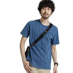 [ナノユニバース] 加工カノコ TシャツSS 6688124508 メンズ L.インディゴ S