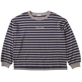 (ハニーズ シネマクラブ)Honeys CINEMA CLUB ロゴ刺繍Tシャツ 585011516247 チャボーダー M