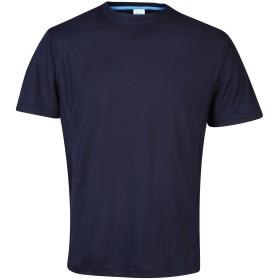 (アウディス) AWDis メンズ スーパークール スポーツ パフォーマンス 半袖Tシャツ トップス カットソー スポーツウェア 男性用 (XL) (フレンチネイビー)