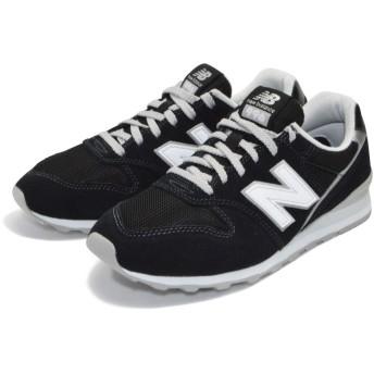 NEW BALANCE ニューバランス レディース スニーカー シューズ 運動靴 ランニング ジョギング WL996 (23cm, BLACK(001))