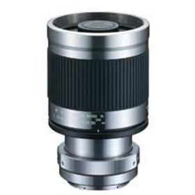 望遠ミラーレンズ 400mm F8 ソニーE用[ソニーNEXアルファ用] フード付き ミラーレスカメラ用 ケンコー