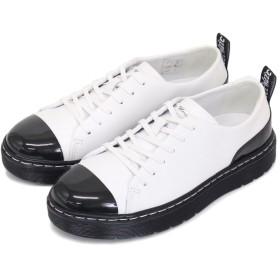 [ドクターマーチン] WMS ALEXEI2 アレクセイ2 6H レディースシューズ White/Black UK5-約24.0cm