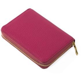 (コラーレ) corale 本革 コインケース 小銭入れ 小さい 財布 レディース ラウンドファスナー イタリアンレザー 選べる 18colors (コーラルピンク)