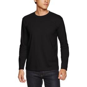 (ユナイテッドアスレ)UnitedAthle 5.6オンス 長袖Tシャツ 501001 [メンズ] 002 ブラック S