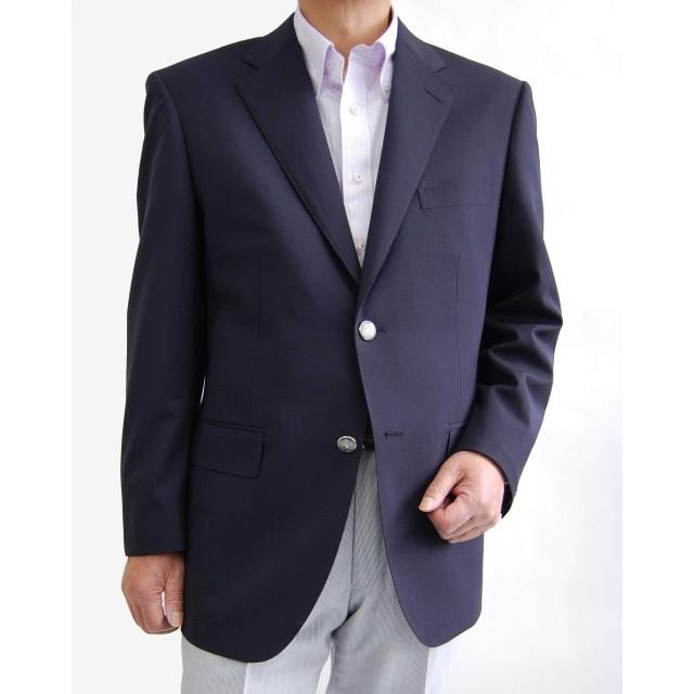 Super100's 紺ブレザー シングルジャケット 3300[DEER-AB4]