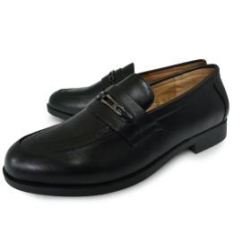 polo-23 メンズ ビジネスシューズ 牛革 ビット ラウンドトゥ Uチップ 黒 BLACK 紳士靴 幅広 3E (サイズ) size 24.0cm [ サンタバーバラ ポロ&ラケットクラブ ] SANTA BARBARA POLO&RACQUET CLUB