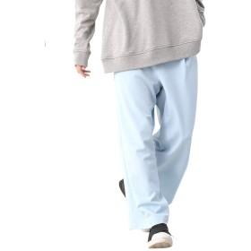 (モノマート) MONO-MART TRタック ワイドパンツ テーパード スラックス トラウザーズ ワイド パンツ MODE メンズ サックス Lサイズ