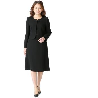(マーガレット)marguerite m455 喪服 ブラックフォーマル レディース アンサンブル 礼服
