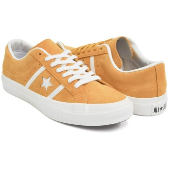 [コンバース] STAR&BARS SUEDE TEAMCOLORS YELLOW (1CL410) 32350503 27.5(9) US