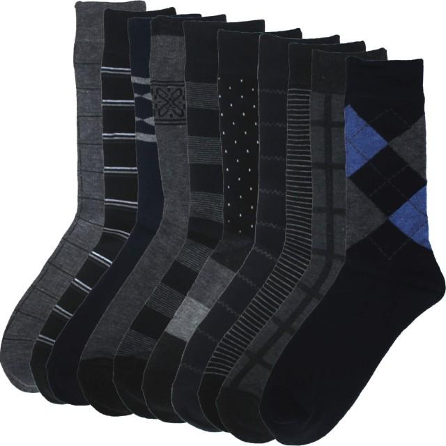[ハルサク] HARUSAKU ビジネス ソックス メンズ 靴下 フォーマル 紳士 25~29 cm セット (27cm ~ 29cm 5足セット)