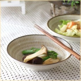 美濃民芸 5.5寸浅鉢  煮物鉢 中鉢 刺身鉢 お浸し 和食 和モダン 和食器 国産 美濃焼 訳あり 父の日