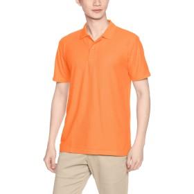 [プリントスター] 半袖 4.9オンス TC 鹿の子 カジュアル ポロシャツ 00193-CP メンズ オレンジ S (日本サイズS相当)