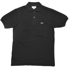 [ラコステ]LACOSTE ポロシャツ クラシック ピケ ポロシャツ L1212 メンズ 12.ノワール 4 [並行輸入品]