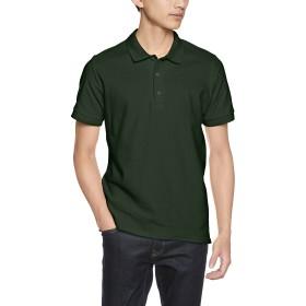 (ギルダン)GILDAN ポロシャツ 83800 アダルト ダブルピケ ポロシャツ 83800 フォレストグリーン M