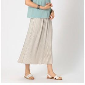 【COMME CA ISM:スカート】プリーツスカート
