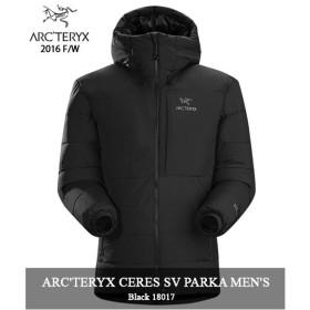 ARC'TERYX 「CERES SV PARKA」 18017 BLACK MENS アークテリクス セレス SV パーカー ダウン ブラック arcteryx キャンプ 登山 アウトドア マウンテン