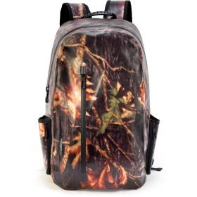 (ビロシー)VILOCYバックパック リュック ザック バッグ 完全防水 無縫製 通勤 通学 旅行 アウトドア 迷彩