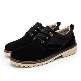 [ドウダイ] カジュアルシューズ メンズ 革靴 スニーカー ブーツ ワークブーツ 靴 シューズ レースアップ 紳士靴 防滑 通気性 軽量