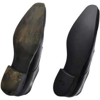 [ミスターミニット] 宅配靴修理サービス Shoe Repair <メンズ> オールソール 靴底まるごと張り替え【ラバー】+磨きコース 1足