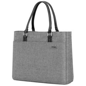 トートバッグ 人気 ビジネスバッグ おしゃれ レディース バッグ 軽量 D8209W (グレー)