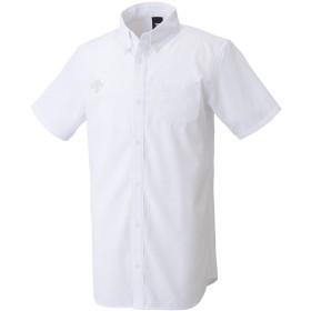 デサント(DESCENTE) ボタンダウン半袖シャツ DMC-4610 WHT ホワイト L