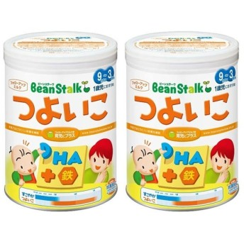 【旧品】 ビーンスターク 粉ミルク つよいこ 820g 2缶パック 食品 ミルク・粉ミルク フォローアップミルク (28)