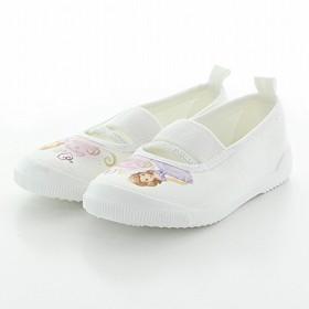 [ムーンスター] 【上履き】ディズニー ちいさなプリンセスソフィア バレーシューズ ホワイト 18.0cm