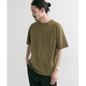 [アーバンリサーチ] tシャツ UR×MANUAL ALPHABET×Velva sheen 別注POCKET T-SHIRTS メンズ KHAKI S
