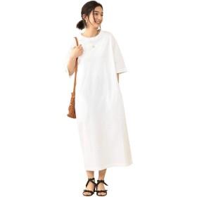 [ビューティ&ユース] BY∴ コットンロングTシャツ ワンピース 16262253575 0100 レディース ホワイト (01) Free