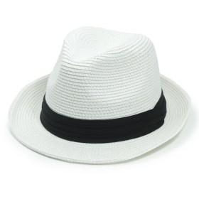 サイズ調整機能付き Wire Brim Braid Hat ワイヤー入りペーパーブレード 中折れハット XL XXL メンズ レディース 麦わら帽子