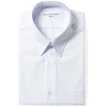 スクール ワイシャツ 男子 半袖 学生 ワイシャツ (左胸ポケット) 人気 学生 カッターシャツ 半袖 (185A)